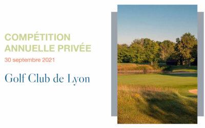 Compétition Annuelle – Golf Club de Lyon
